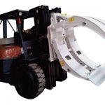 Anbaugeräte für Gabelstapler 360-Grad-Einarm-Papierrollenklemmen