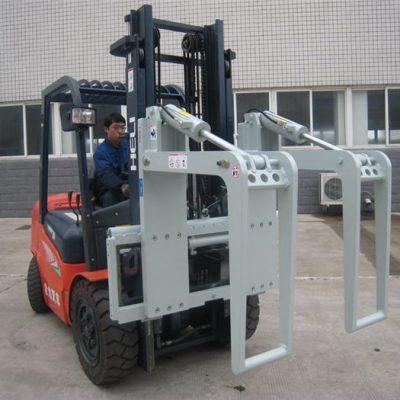 Hydraulische Gabelstapleranbaugeräte Holzhalter