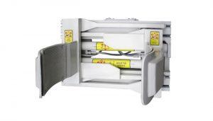 Forklfit Attachment Steel White 55 Gallonen Gabelstapler-Trommelklemme