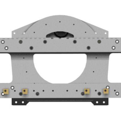 Trommel-Rotator-Gabelstapler-Aufsatz