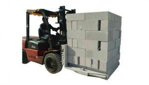 Hydraulische Gabelstapler-Betonstein-Block-anhebende Klammer