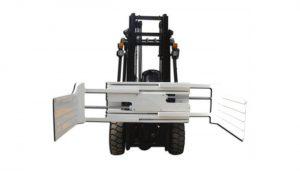Effiziente hydraulische Rundballenklemme für Gabelstapler