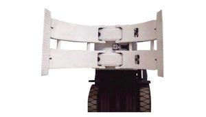 Material Handling Equipment 2ton TB-Serie Rollengabelhubwagen Manueller Palettenstapler Papierrollenklemmordner