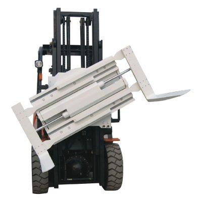 China-Lieferant 3-Tonnen-Gabelstapler-Klammern, die Gabelklammern drehen