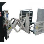 Kartonklemmen mit Seitenverschiebung