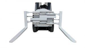 Gabelstapler-Anbaugerät der Klasse 2, drehbare Gabelklemme mit einer Länge von 1220 mm
