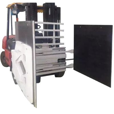 Hochwertiger Gabelstapler mit Kartonklemme