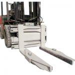 Hydraulische Blockklemme für Gabelstapleranbaugeräte