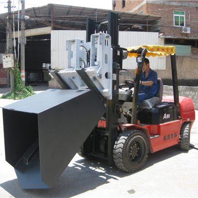 3 Tonnen Hyundai Diesel Gabelstapler Anbaugerät Eimer Klappgabel und Eimer