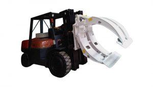 Material Handling Equipment Gabelstapler-Papierrollenklemme