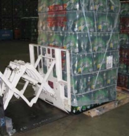 Gabelstapler-Zug-Stoßzubehör-Gebrauch in der Getränkeindustrie